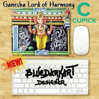 Ganesha Lord of Harmony Mouse pad - by BluedarkArt by Bluedarkat