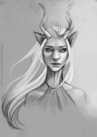Matriarchy Sketch by danielleclaire