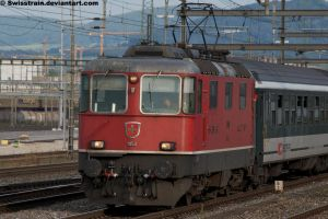 SBB Re 4-4 II 11153 by SwissTrain