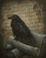 Nevermore - The Raven - Poe by cdukino