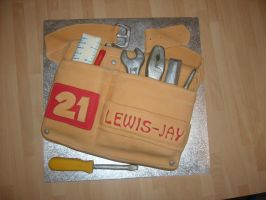 Tool Belt Cake by mike-a