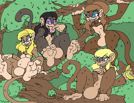 COM Fem Monkey Bois by Da-Fuze
