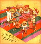 Story of The Three Caballeros by chacckco