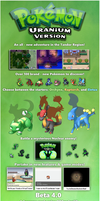 IT'S HERE! POKEMON URANIUM BETA 4.0 AVAILABLE! by JV12345