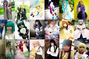 My cosplays for 2012 by miharu-desuu