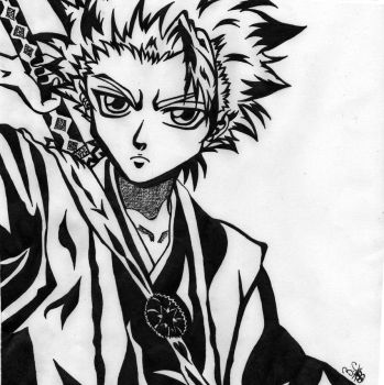 Toshiro by Clauditzasng