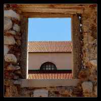 Behind The Window - Pag - Croatia by skarzynscy