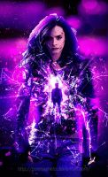Jessica Jones fanmade poster by punmagneto