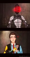 Tales From the Borderlands: Zero and Rhys by SatiricalKat