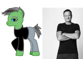 robin williams ponified (R.I.P) by kuren247