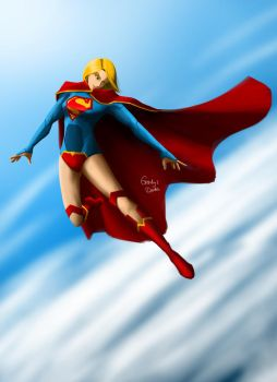 Supergirl by amateurartworker