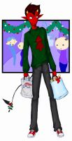 Lucifer's Shopping Spree by gryphflame