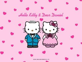Hello Kitty and Dear Daniel Wallpaper by MFSyRCM
