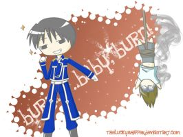 Roy Mustang Vs. Edward Cullen by theluckyshipper