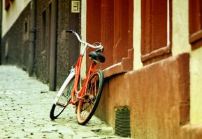 red bike by ncavee