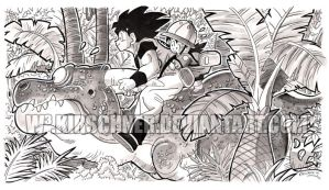 Goku secret friend by kirschner