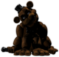 Freddy Fazbear is waiting for you by GoldenNove