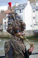 Turban and jacket wearable sclupture artised by overlord-costume-art