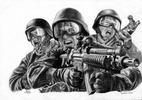 Attack by BombAsoldier