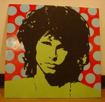 Jim Morrison by chrispjones