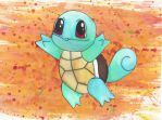 Squirtle (Art trade) by Caro-Chipher