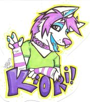 Kiori badge by TunnySaysIDK