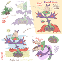 Fakemon - Eeckzaia by Jfdp13
