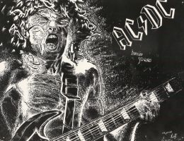 ACDC scratchboard by kris-san