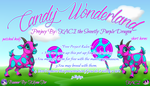 Easter Candy Wonderland Banner Large For KACI by KilynnTor