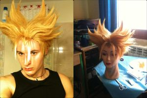 Future Trunks SSJ Wig by Zell-Ecstasy