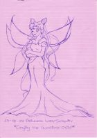 Moon lady serenity ink by DaTenshiOni