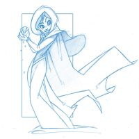 Disney's Frozen - Anna Throwing Snowball by KingOlie