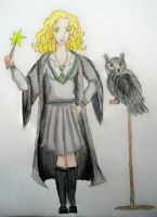 Slytherin Witch by bueatiful-failure