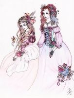 Fairies by La-Chapeliere-Folle