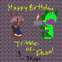 HBD Tribble-Of-Doom by Stealthfire231