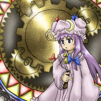 Touhou - Patchouli Knowledge by Minon