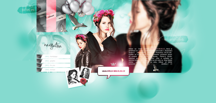 Layout ft. Lana del Rey by PixxLussy