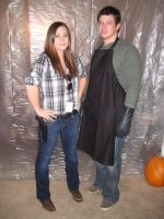 Deb and Dexter Morgan by Groovygirlsuzy17