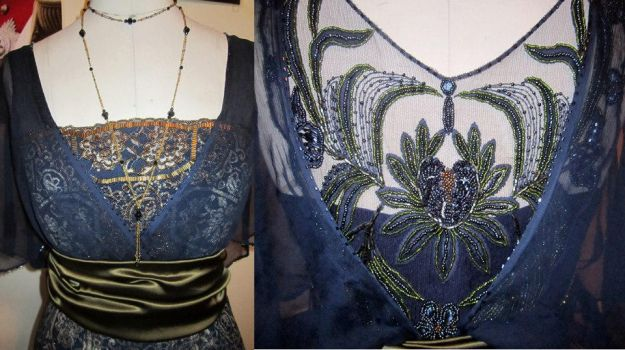 Ms. Peacock - Details by Naboo-Girl