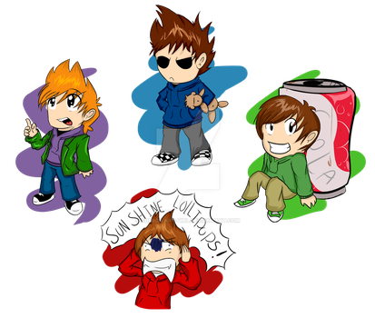 Eddsworld Chibis by comics-art-girl