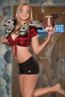 Twin Peaks Football Promo Amanda by Enigma-Fotos