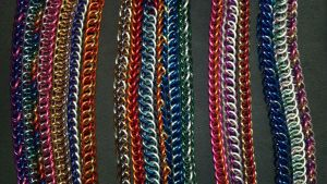 MLP Themed Chainmail Bracelets Complete Set - 1 by TheGiantsnoll