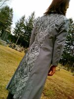 Gray and Paisley Frock Coat 2 by EngineerandTheGypsy