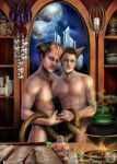 Kitty And Sorcerer by RomanticFae