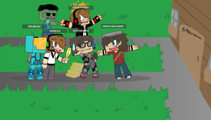 Minecraft with Ty,Sky,Jason and I by BillyBCreationz