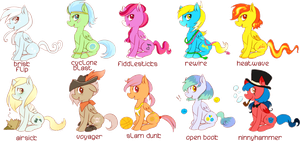 Pegasi Batch! 3/10 left by foofuzz