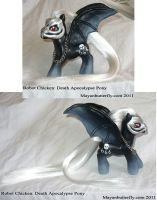 Death Apocalypse Robot Chicken Custom Pony II by mayanbutterfly