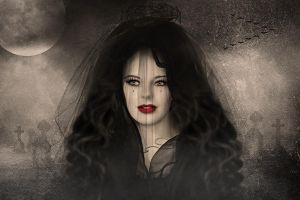The black Widow by annemaria48