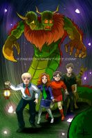 Scooby Gang commission by 47ness