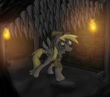 Ditzy-Doo and the Tomb of the Golden Muffin by Supersheep64